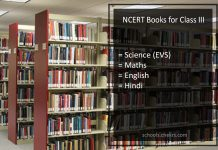 NCERT Books for Class 3- EVS, Maths, English, Hindi, PDF Dowload