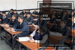 NCERT Competitive Exams - NTSE and NMMS