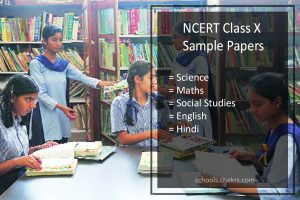 NCERT Sample Papers for Class 10- Science, Maths, SST, Hindi, English