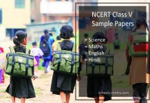 NCERT Model Question Paper for Class 5- Science, Maths, English, Hindi