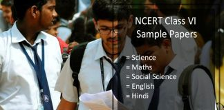 NCERT Sample Papers for Class 6- Science, Maths, SST, English, Hindi