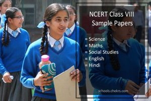 NCERT Sample Papers for Class 8- Science, Maths, SST, Hindi, English