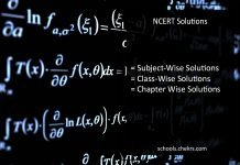 NCERT Solutions For Class 1 to 9, 10, 11, 12 books, Download PDF