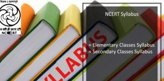 NCERT Syllabus In Detail For Elementary, Secondary Classes in PDF