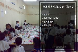 NCERT Syllabus for Class 2 - Maths, English, Hindi, PDF Download