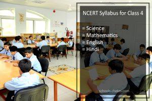 NCERT Syllabus for Class 4 - English, Hindi, Science, EVS, Maths