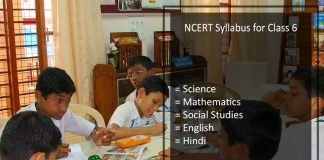NCERT Syllabus for Class 6 - Science, Hindi, English, Maths, SST