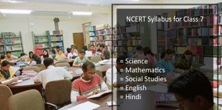 NCERT Syllabus for Class 7 - Maths, Science, SST, English, Hindi