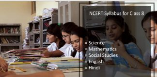 NCERT Syllabus for Class 8 - Science, Hindi, English, Maths, SST