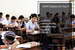 NCERT Syllabus For Class 9 - Science, Maths, SST, Hindi, English