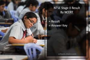 NTSE Result - Stage 2, 14 May 2017 Exam Merit List (state-wise)