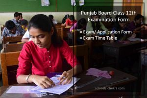 Punjab Board 12th Examination Form - Register @pseb.ac.in