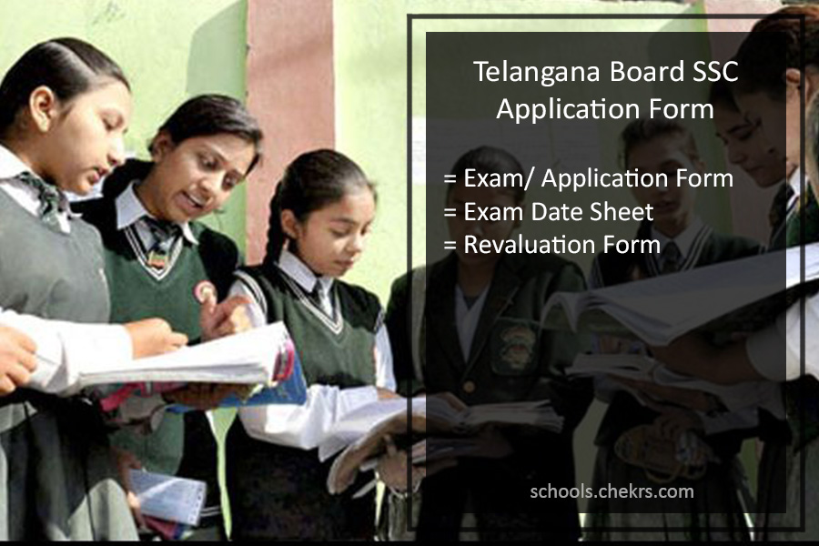 Telangana SSC Application Form, TS Board 10th Registration