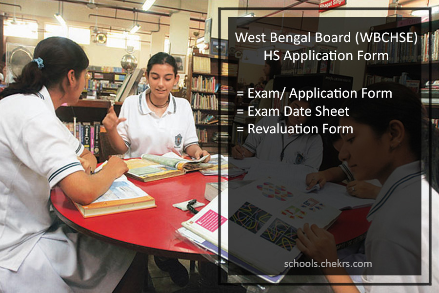 WBCHSE HS Exam Application Form, Register @wbchse.nic.in