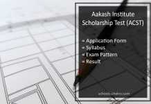 Aakash Scholarship Test (ACST) 2017- Dates, Syllabus, Result