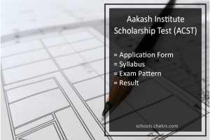 Aakash Scholarship Test (ACST) 2017- Dates, Syllabus, Result