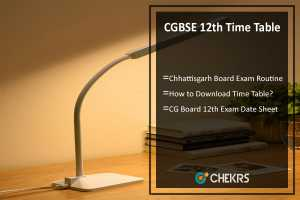 CGBSE 12th Time Table- cgbse.net CG Board 12th Exam Date Sheet