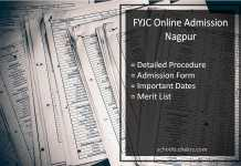 FYJC Online Admission Nagpur: Form, 11th Class Procedure, Dates