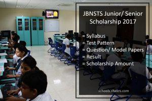 JBNSTS Junior/ Senior Scholarship - Syllabus, Pattern, Result