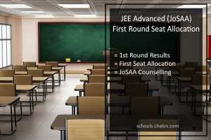 JEE Advanced (JoSAA) 1st Round Seat Allotment - First Counselling Result on 28th June