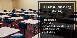 JEE Mains Counselling 2017- JoSAA CSAB Registration, Seat Allotment Result