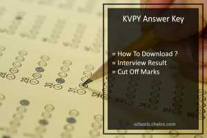 KVPY Answer Key - {SA SB SX} Streams Paper Solution, Cut Off Marks