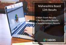 Maharashtra HSC Result Supplementary @mahresult.nic.in