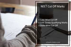 NEET Cut Off Marks - Government Colleges, MBBS, BDS State Cut Off