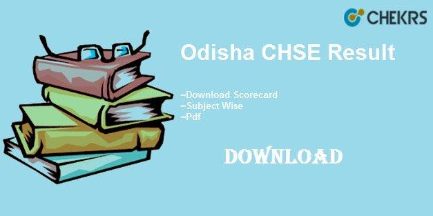 odisha chse result