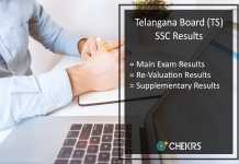 Telangana SSC Supplementary Results, TS Board 10th Compartment Results