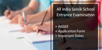 AISSEE - Exam Dates, Syllabus, Answer Key, Cut Off Marks, Result