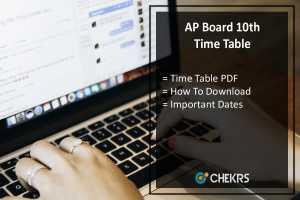 AP SSC Time Table- BSEAP Board 10th Class Exam Date Sheet
