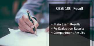 CBSE 10th Revaluation Result, Rechecking/ Verification of Answer Sheets