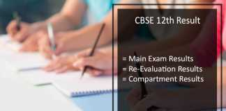 CBSE 12th Revaluation Result, Verification, Rechecking, Answer Sheets Photocopy