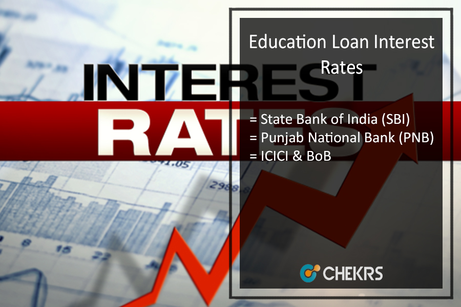 Education Loan Interest Rate 2017-18 for SBI BOB PNB ICICI Axis Bank, How To Get Education Loan?