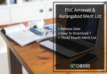 FYJC 2nd Merit List- Amravati/ Aurangabad Second Online Admission List Releasing