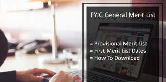 FYJC General Merit List - 11th Class Admission Provisional Released