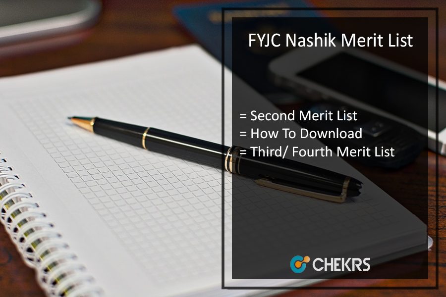 FYJC Nashik Merit List - 2nd, 3rd, 4th Online Admission List