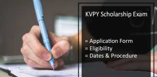 KVPY Scholarship - Online Registration, Application Form, Eligibility, Dates, Process