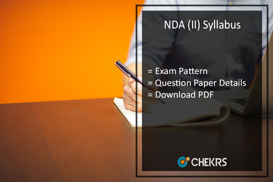 NDA 2 Exam Syllabus 2017 Download- upsc.gov.in NA Exam Pattern