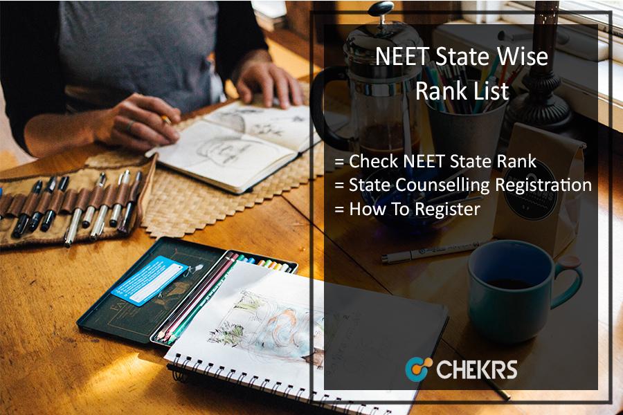 NEET State Wise Rank List- UG Rank Predictor, Online Registration