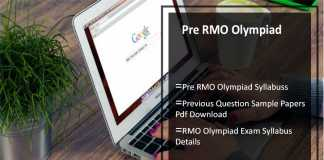 Pre RMO Olympiad 2017- Syllabus, Previous Question Sample Papers Pdf Download