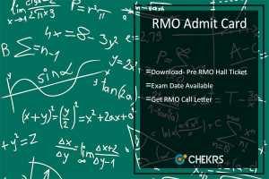 RMO Admit Card