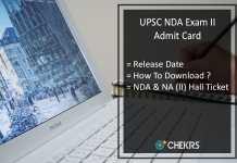 UPSC NDA 2 Admit Card - NA (II) Hall Ticket, Release Date, Download PDF