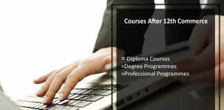 Courses After 12th Commerce, carrer option after 12th Commerce