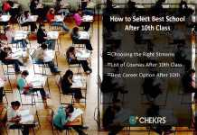 How to Select Best School after 10th Class