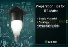 Preparation Tips for JEE Mains, Strategy, Study Plan