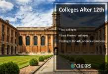 How to Choose College After 12th, get top colleges