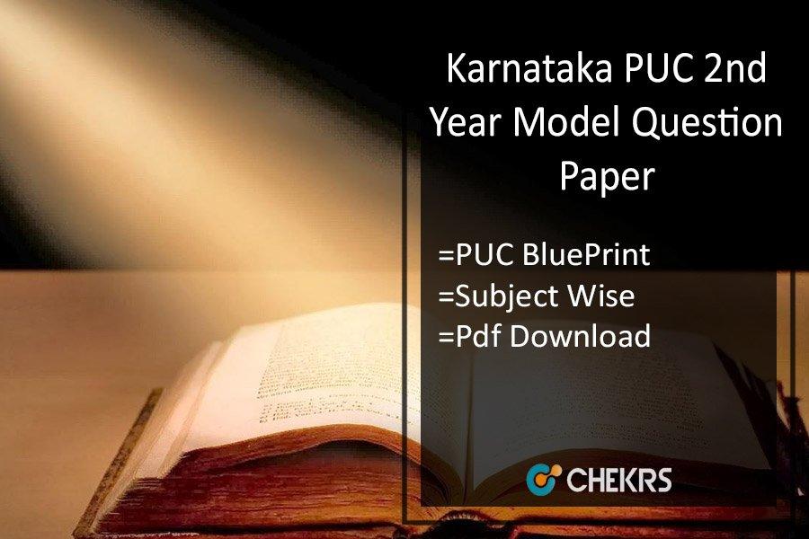 Karnataka puc 2nd year model question paper puc blueprint 2018 karnataka puc 2nd year model question paper puc blueprint malvernweather Choice Image