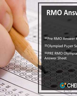 RMO Answer Key- Pre RMO Olympiad (20th Aug) Paper Solution